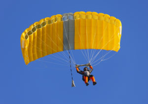Person with a golden parachute